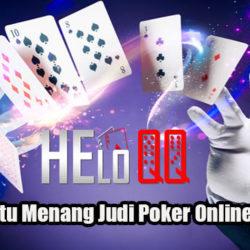 Strategi Jitu Menang Judi Poker Online Uang Asli